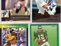 1960 TO 1997 PRO SET/ THE 214 FOOTBALL CARDS,THE UPPER