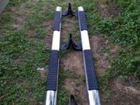 I have a set of factory Dodge chrome nerf bars for