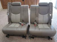 For sale is a set of Tan third row seats that will fit