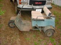 late 60s early 70s? AMF Par Pony Golf Cart. gas powered
