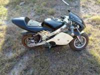 I have a mini motorcycle for, its in great shape great