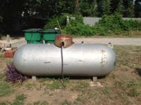 I have a 250 gallon propane tank that we used to use