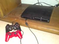 PS3 250 Gb with two controllers, hdmi cable, headset