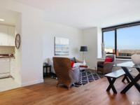 Welcome home to this light filled, 8th floor 1BR 1BA +