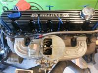 totally rebuilt inline 6 roller rockers aluminum intake