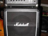 Fantastic guitar amp combo. Marshall Stack featuring 2