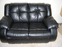 Nice Naugahyde (leather like) couch for sale! The couch