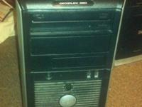 this is a Dell Optiplex 320 with 3.5GB RAM, 80GB HDD,
