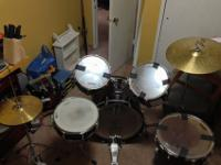 I have a drumset for sale. color is red. kit includes