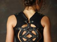 Gorgeous Sefirah Fierce leather vest. Bought new 8