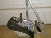 I've got a stamina 1399 rowing machine, barely used. It