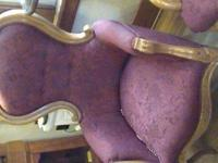 Here are the 2 side chairs that match the reproduction