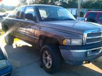 2001 dodge ram 4x4 170k miles. Engine runs great. Power