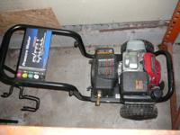 This is a scarcely used Excell Power washer with a