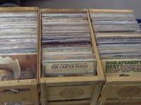 Large record cd collection for sale. Mostly country
