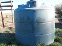 Water tank for sale never used. Properly piped it