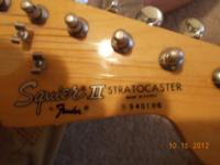 I have a Squire Strat for sale. I don't play it