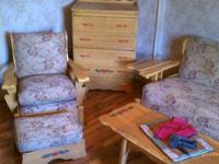 Super well constructed early 60s furniture set in good
