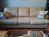 Clean, gently used couch for sale $250. Pillows