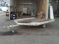 2529 2001 TRITON LT10VR 101 SNOW MOBILE TRAILER Sold