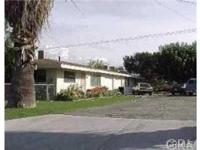 This is a triplex in the heart of Loma Linda. Stroll to