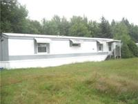 MOBILE HOME W/PROPERTY Nice 2 Bedroom Mobile Home w/2