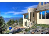 Located off a private mountainside road in the
