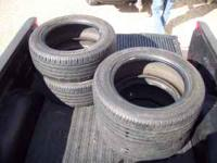 i have a set of 4 tires in real nice condition.