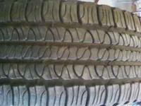 255-65-18 goodyear forteras great shape near new come