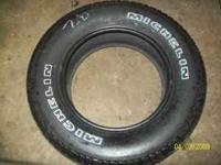 I have 1 255/65R17 Michelin LTX A/S Tire for sale that