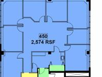 have a suite offered, 2574 RSF. consisting of 8