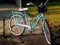 I rode this stylish, purple paisley - bike 5 times,