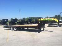 (888) 981-9668 ext.298 20ft Gooseneck trailer 20K GVW