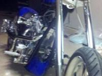 Custom built Mitch Bergeron chopper best of the best.