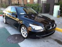 Black FULLY LOADED 5-series originally bought CERTIFIED