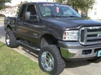 """This 2006 F-250 4x4 6.0 turbo diesel has a 5"""" block and"""