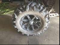 "I have 4 14"" tires for sale, 2 are 26-11-14 and 2 are"