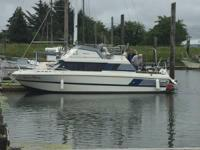 Boat is located in Warrenton Oregon at Cascade Yacht