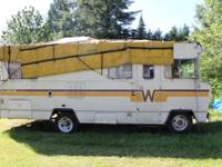 26 1976 Winnebago. Has most of the cosmetic problems,