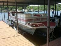 Please call owner Robbi at . Boat is at The Lake Of The