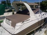 Boat owners notes for 2006 Larson Cabrio 260 in