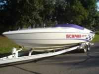 1997 29' WELLCRAFT SCARAB 502 Mercruiser with Pro