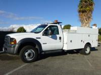 2006 Ford F550, 6.0L Powerstroke Diesel, Automatic,