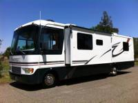 A spacious motorhome with just under 39,000 miles,