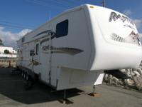 2007 Keystone Raptor 3612. Garage model. Dry weight
