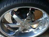 I have a set of 26 and 24 inch rims and tires for