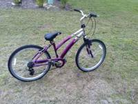 "Ladies 26"" bike. It rides fine just won't shift for"