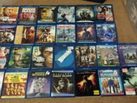 Up for sale are 28 Blu-rays  Stir of echos  Rango  John