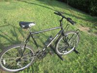 18 speed Outlook with quick drop wheel, water rack and