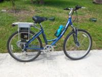 "I HAVE A 26"" ELECTRIC EZIP TRAILZ LADIES 7 SPEED BIKE"